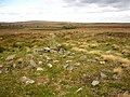 Cairn on Big Moor - geograph.org.uk - 571706.jpg