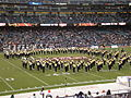 Cal Band performing pregame at 2008 Emerald Bowl 07.JPG