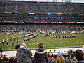 Cal Band performing pregame at 2008 Emerald Bowl 16.JPG