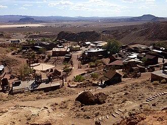Calico, San Bernardino County, California - Calico in the Mojave Desert