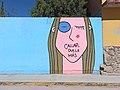Callar duele más - Mural contra la violencia de género (El Llanito, Guanajuato).jpg
