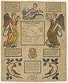 Calligraphy, Birth Certificate, 1818 (CH 18441903).jpg