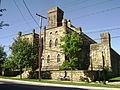 Cambria County Jail original castellated building.JPG