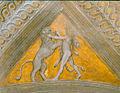 Camera picta, pennacchi, Ercole e il leone Nemeo 01.jpg