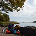 Camping Equipment at Mouth of Amable du Fond River - Unorganized South Nipissing District 2019-09-20.jpg