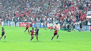 Canada national rugby union team - Canada take on Wales during the 2007 World Cup