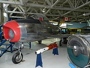 Canadair Sabre Mk. 1 at the Alberta Aviation Museum.JPG
