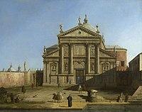 Canaletto (Venice 1697-Venice 1768) - San Giorgio Maggiore in a Capriccio Setting - RCIN 400559 - Royal Collection.jpg