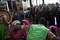 Canciller Ricardo Patiño visita stand de Ecuador en la XXXII Feria Internacional del Libro de Santiago (8128552884).jpg