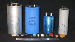 Farad - Examples of different types of capacitors