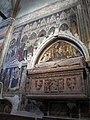 Cappella cavalli, affreschi di altichiero e monum. a federico cavalli con affr. di stefano da zevio, 02.JPG