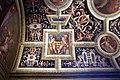 Cappella dei papi, grottesche di ridolfo del ghirlandaio e putti reggistemma del pontormo 01.jpg