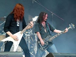 I Carcass al Gods of Metal di Bologna (2008)