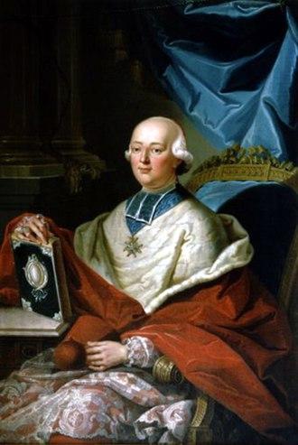 Affair of the Diamond Necklace - Cardinal de Rohan