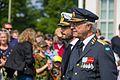 Carl XVI Gustaf and Prince Carl Philip at the Swedish Veteran's Day in 2016.jpg
