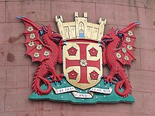 Carlisle city coat of arms - geograph.org.uk - 1650401.jpg