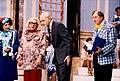 """Carlo Frisi Vianello, con Oreste Lionello Mondaini, Leo Gullotta Leonida e Pippo Franco in """"Bucce di Banana"""" su Rai 1.jpg"""