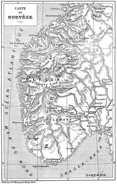 File:Carte Norvège - Jules Verne - Un Billet de Loterie.jpg