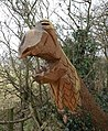 Carving by the Monarch's Way - geograph.org.uk - 696863.jpg