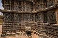 Carving on the South Side Wall of Lakshmi Narasimha Temple, Nuggehalli 02.jpg