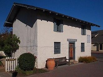 California Historical Landmarks in Monterey County - Image: Casa del Oro