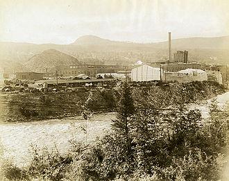 Cascade, New Hampshire - Image: Cascade Mill 1914