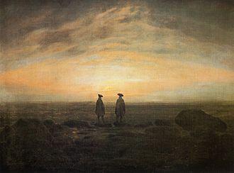 Two Men by the Sea - Image: Caspar David Friedrich Zwei Männer am Meer