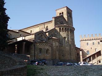 Castell'Arquato - Collegiata church.