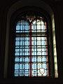 Castello di Fiemme, chiesa dell'Immacolata di Lourdes - Vetrata.jpg