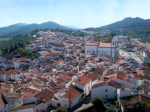 Castelo de Vide - A view of the hilttop seat of the municipality of Castelo de Vide