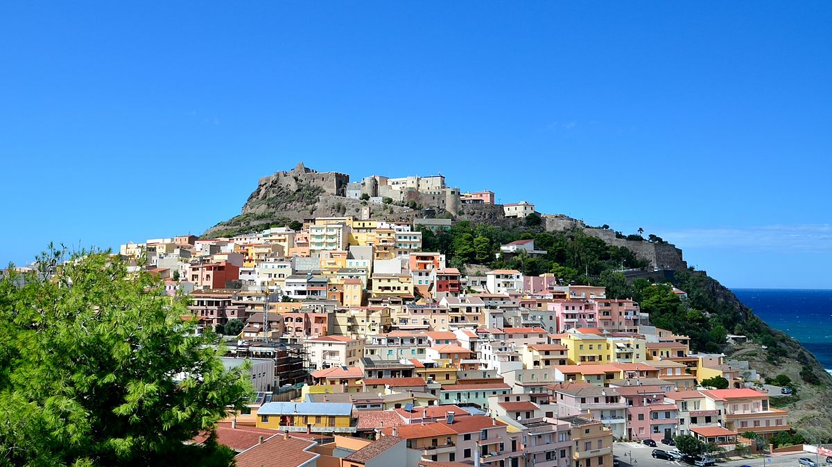 Carte Cagliari Visite Ville
