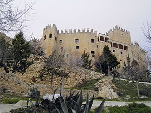 Pedro III Fajardo, 5th Marquis of Los Vélez - Vélez Blanco Castle is located in the Province of Almería, Spain, 37° 41′ 27″ N, 2° 05′ 54″ W