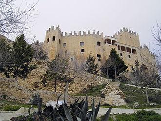 Pedro III Fajardo, 5th Marquis of Los Vélez - Vélez Blanco Castle is located in the Province of Almería, Spain, 37° 41′ 27″ N, 2° 05′ 54″ W