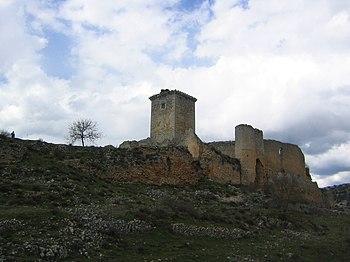 Castillo de Ucero. Vista general.