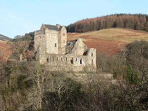 Castle Campbell - Image: Castle Campbell 01
