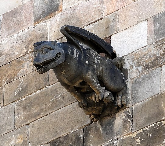 Gargoyle on Barcelona Cathedral
