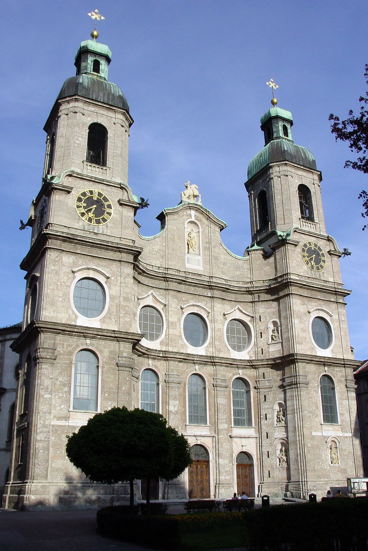 Innsbruck Cathedral - Wikipedia