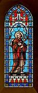 Cauterets 65 Eglise Vitrail Maumejean 1889 St Jacques 2014.jpg