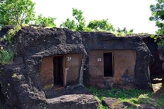 Kolvi Caves - Image: Caves no 34 and 35