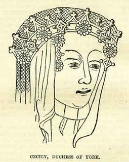 Cecily Neville, Duchess of York 15th-century English duchess