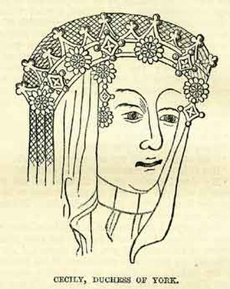 Duchess of York - Image: Cecily neville