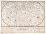 Ceiling of Ballroom decorated for the Marriage of the King of Naples to the Archduchess of Austria MET DP801609.jpg