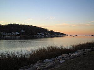 Centerport, New York - Centerport Harbor, November 2005