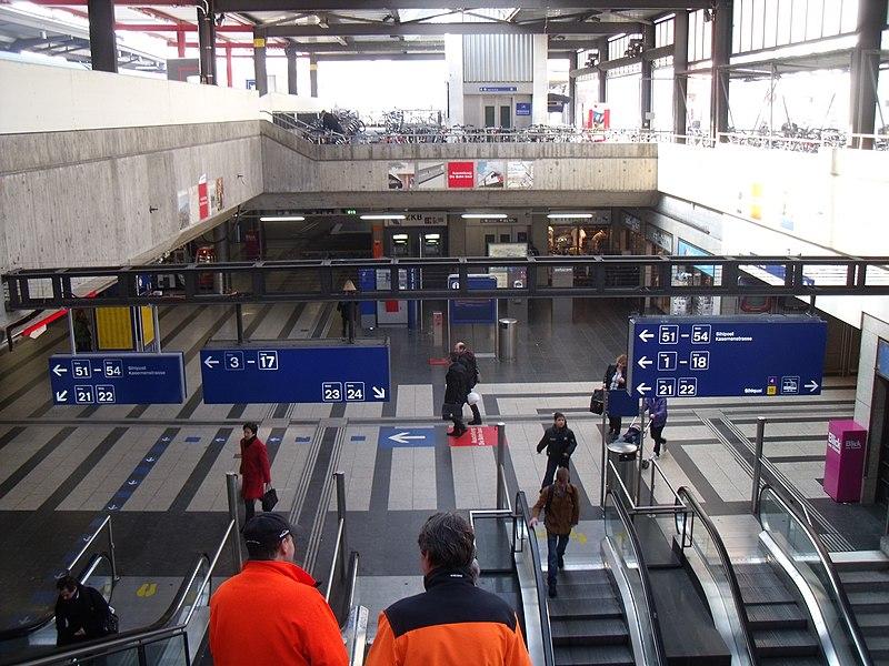 Como andar de trem em Zurique