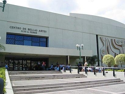 Cómo llegar a Centro De Bellas Artes Luis A. Ferré en transporte público - Sobre el lugar