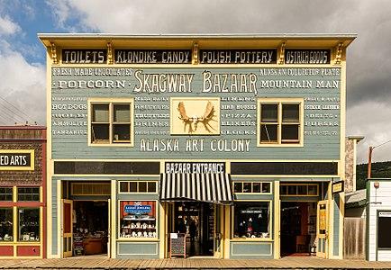 Skagway Bazaar, Skagway Historic District, Alaska, United States