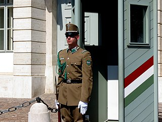 32nd Budapest Guard and Ceremonial Regiment