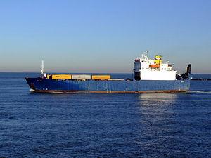 Cervine, Port of Rotterdam, Holland, 06JAN2009 pic2.JPG