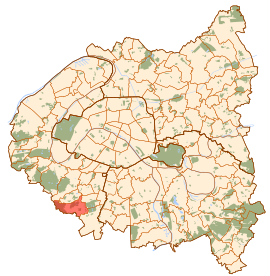 Châtenay-Malabry map.svg