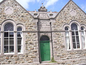 Chacewater - Image: Chacewater Literary Institute (DSCN0562)